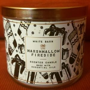 Bath & Bodyworks Marshmallow Fireside 3-wick